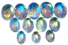 Natural Extra Fine Rainbow Moonstone - Oval Cabochon - Sri Lanka - Extra Fine Grade - NW Gems & Diamonds