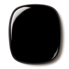 Natural Extra Fine Black Onyx - Antique Cushion Buff Top Cabochon - Brazil - AAA+ Grade