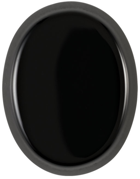 Natural Fine Black Onyx - Oval Buff Top Cabochon - Brazil - Top Grade - NW Gems & Diamonds