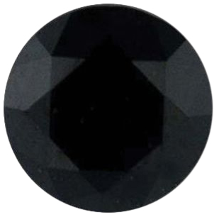 Natural Extra Fine Black Spinel - Achromatic - Round - Madagascar - Extra Fine Grade - NW Gems & Diamonds