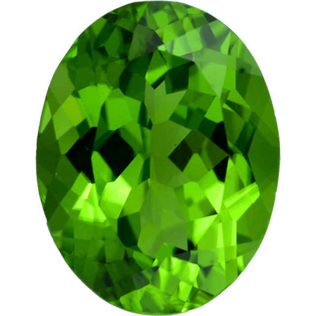 Natural Fine Vivid Apple Green Peridot - Oval - Sri Lanka - Top Grade - NW Gems & Diamonds