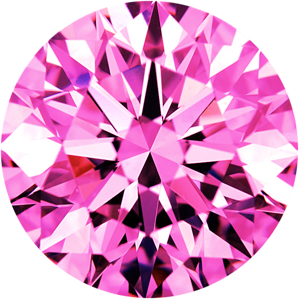 Parcel Natural Super Fine Magenta Pink Sapphire Melee - Round - AAAA Grade