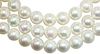 Natural Super Fine White Freshwater Pearl Strand - Round - China - AAAA Grade