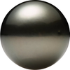 Natural Fine Silver-Gray Tahitian Saltwater Pearl - Round - Un-Drilled - French Polynesia - AAA Grade