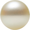Natural Fine White Japanese Akoya Saltwater Pearl - Round - Half-Drilled - Japan - AAA Grade