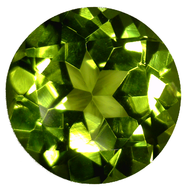 Natural Fine Vibrant Green Peridot - Round - Arizona - Top Grade - NW Gems & Diamonds