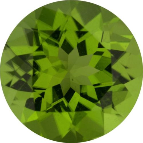 Natural Fine Rich Green Peridot - Round - Pakistan - Top Grade - NW Gems & Diamonds