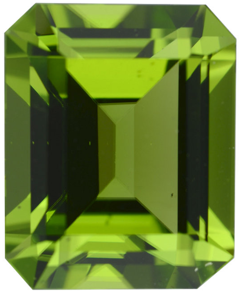 Natural Fine Vivid Green Peridot - Emerald - Arizona - AAA Grade