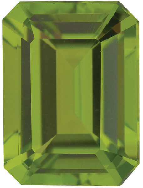 Natural Fine Rich Green Peridot - Emerald - Pakistan - AAA Grade