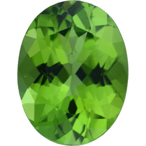 Natural Fine Apple Green Peridot - Oval - Pakistan - Top Grade - NW Gems & Diamonds
