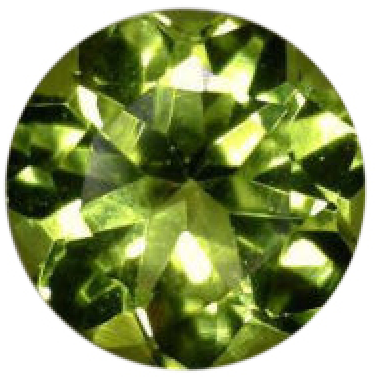 Natural Fine Apple Green Peridot - Round - Sri Lanka - Top Grade - NW Gems & Diamonds
