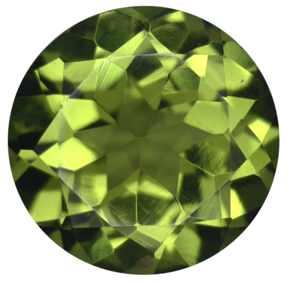 Natural Fine Rich Green Peridot - Round - Arizona - Top Grade - NW Gems & Diamonds