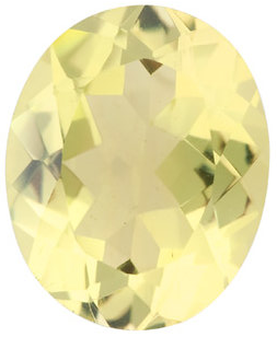 Natural Fine Yellow Lemon Quartz - Oval - Brazil - Top Grade - NW Gems & Diamonds