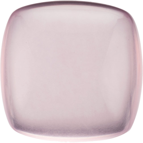Natural Extra Fine Rose Quartz - Cushion Cabochon - Brazil - AAA+ Grade