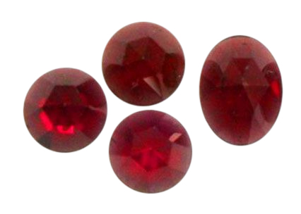 Natural Extra Fine Red Garnet - Round & Oval Rose Cut Cabochon - Mozambique - AAA+ Grade