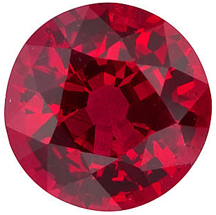 Natural Fine Rich Vivid Red Ruby - Round - Mozambique - Top Grade - NW Gems & Diamonds