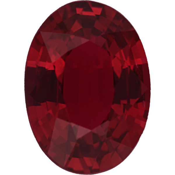 Natural Extra Fine Rich Red Ruby - Oval - Africa - Extra Fine Grade - NW Gems & Diamonds