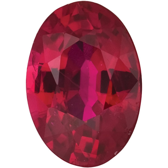 Natural Fine Red Ruby - Oval - Africa - Top Grade - NW Gems & Diamonds