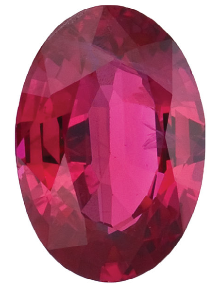 Natural Fine Pink Red Ruby - Oval - Thailand - Select Grade - NW Gems & Diamonds