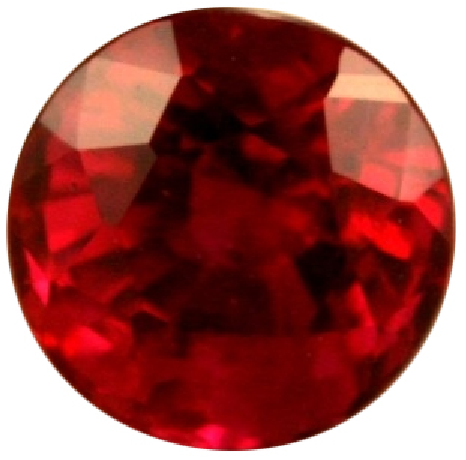 Natural Extra Fine Rich Red Ruby - Round - Africa - Extra Fine Grade - NW Gems & Diamonds