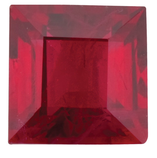 Natural Fine Red Ruby - Square Step - Africa - Top Grade - NW Gems & Diamonds