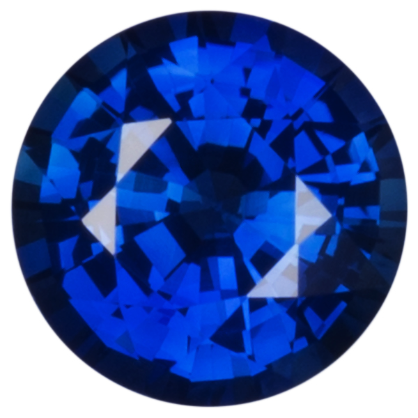 Natural Fine Blue Sapphire - Round Faceted - Sri Lanka - AAA Grade
