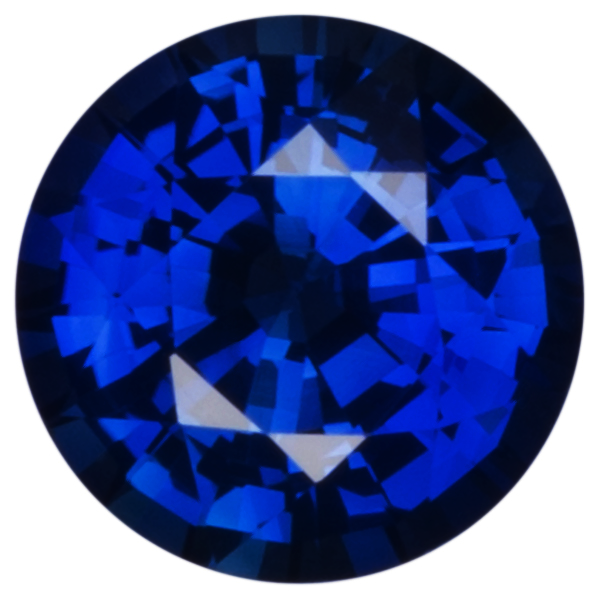 Natural Fine Blue Sapphire - Round Faceted - Sri Lanka - AA+ Grade