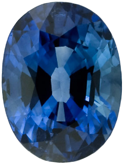 Natural Fine Ceylon Blue Sapphire - Oval - Sri Lanka - Top Grade - NW Gems & Diamonds