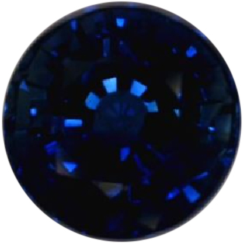 Natural Fine Deep Blue Sapphire - Round - East Africa - Select Grade - NW Gems & Diamonds