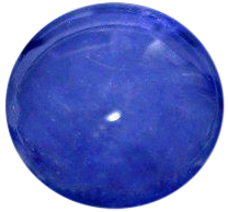 Natural Fine Medium Blue Sapphire - Round Cabochon - Madagascar - Top Grade - NW Gems & Diamonds