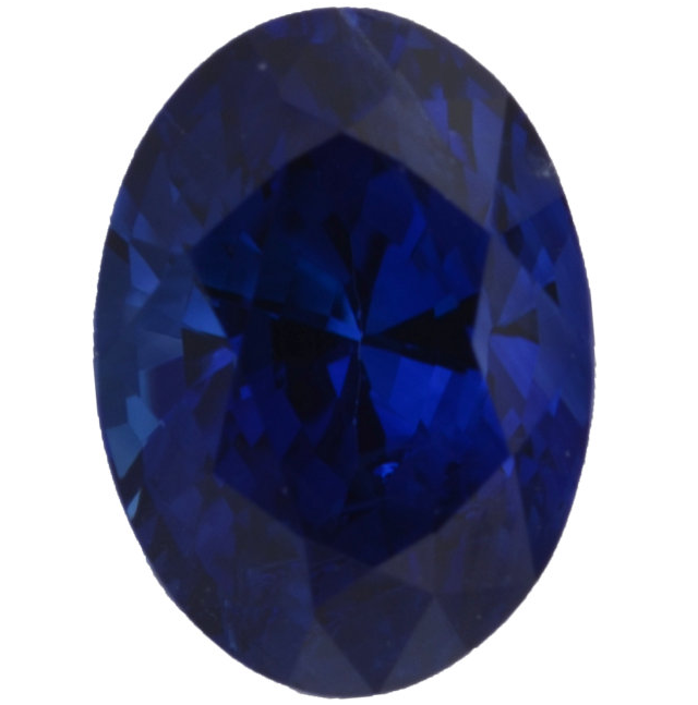 Natural Fine Deep Blue Sapphire - Oval - Sri Lanka - Top Grade - NW Gems & Diamonds