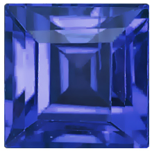 Natural Fine Blue Sapphire - Square Step - Sri Lanka - AAA Grade