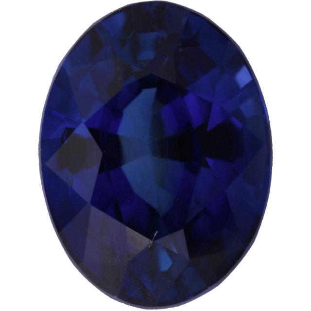 Natural Fine Deep Blue Sapphire - Oval - East Africa - Select Grade - NW Gems & Diamonds