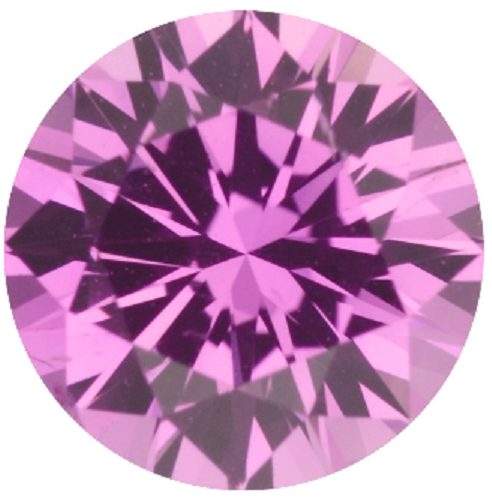Natural Extra Fine Intense Pink Sapphire - Round - East Africa - Extra Fine Grade - NW Gems & Diamonds