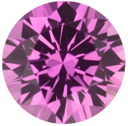 Natural Super Fine Deep Pink Sapphire - Round - Sri Lanka - Super Fine Grade - NW Gems & Diamonds