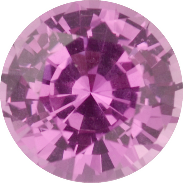Natural Fine Rich Pink Sapphire - Round - Sri Lanka - Top Grade - NW Gems & Diamonds