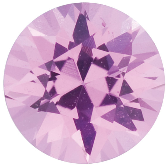 Natural Fine Pink Sapphire - Round - Sri Lanka - Select Grade - NW Gems & Diamonds