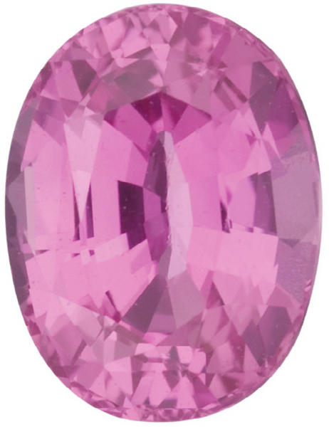 Natural Extra Fine Intense Pink Sapphire - Oval - East Africa - Extra Fine Grade - NW Gems & Diamonds