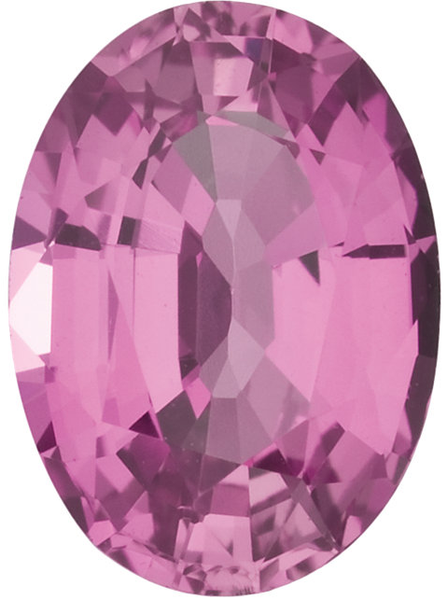Natural Fine Rich Pink Sapphire - Oval - Sri Lanka - Top Grade - NW Gems & Diamonds