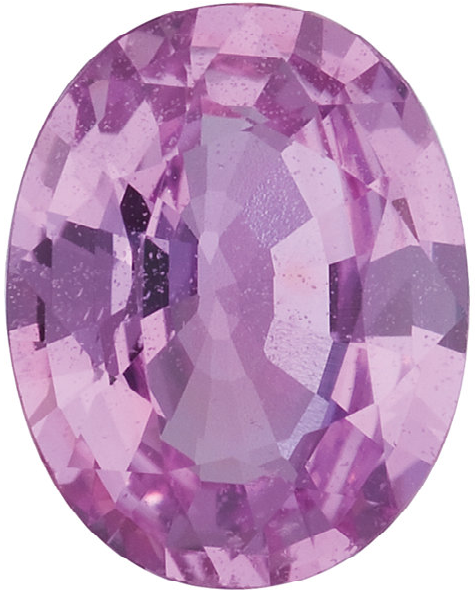 Natural Fine Pink Sapphire - Oval - Sri Lanka - Select Grade - NW Gems & Diamonds