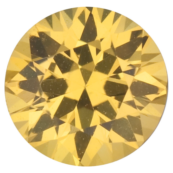 Natural Fine Intense Yellow Sapphire - Round - East Africa - Top Grade - NW Gems & Diamonds