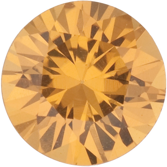 Natural Extra Fine Amber Yellow Sapphire - Round - Sri Lanka - Extra Fine Grade - NW Gems & Diamonds