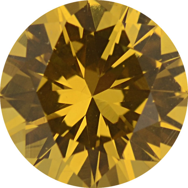 Natural Extra Fine Deep Yellow Sapphire - Round - Sri Lanka - Extra Fine Grade - NW Gems & Diamonds