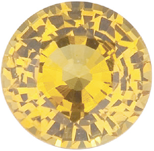 Natural Fine Yellow Sapphire - Round - Tahiland - Top Grade - NW Gems & Diamonds