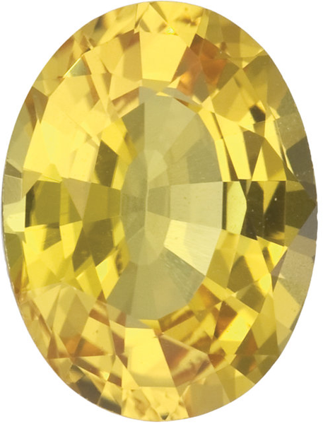 Natural Fine Yellow Sapphire - Oval - Sri Lanka - Top Grade - NW Gems & Diamonds