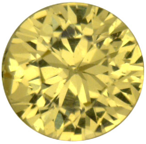 Natural Fine Rich Canary Yellow Sapphire - Round - East Africa - Top Grade - NW Gems & Diamonds