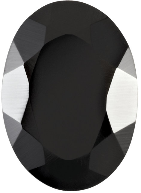 Natural Fine Black Spinel - Oval - Madagascar - Top Grade - NW Gems & Diamonds