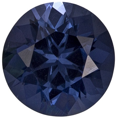 Natural Fine Deep Blue Spinel - Round - Sri Lanka - AAA Grade