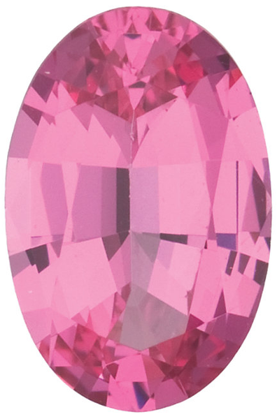 Natural Extra Fine Rich Pink Spinel - Oval - Sri Lanka - Extra Fine Grade - NW Gems & Diamonds