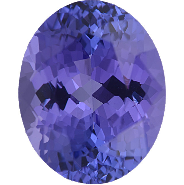 Natural Fine Blue Violet Tanzanite - Oval - Tanzania - Select Grade - NW Gems & Diamonds